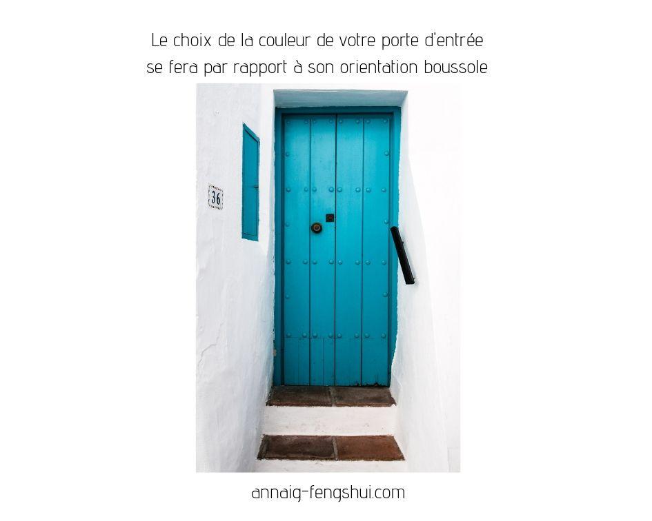 Quelle couleur choisir pour sa porte d 39 entr e anna g - Couleur hall d entree feng shui ...
